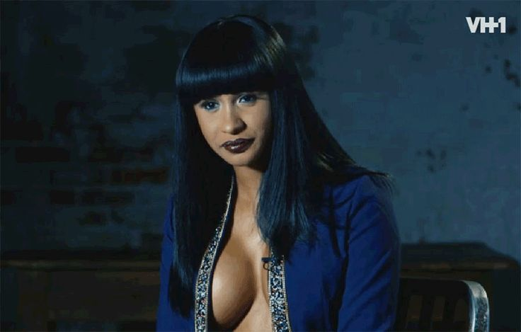 September 5 2017: Cardi B has been telling fools for a LONG TIME that shes Black  well it appears that shes telling the truth. Check out what Cardis hair looks like  underneath all those WIGS and WEAVES.