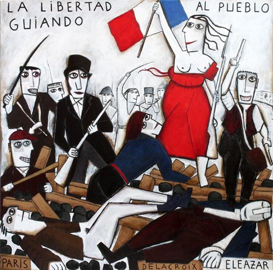 12 best Delacroix: La llibertat guiant al poble. images on ...