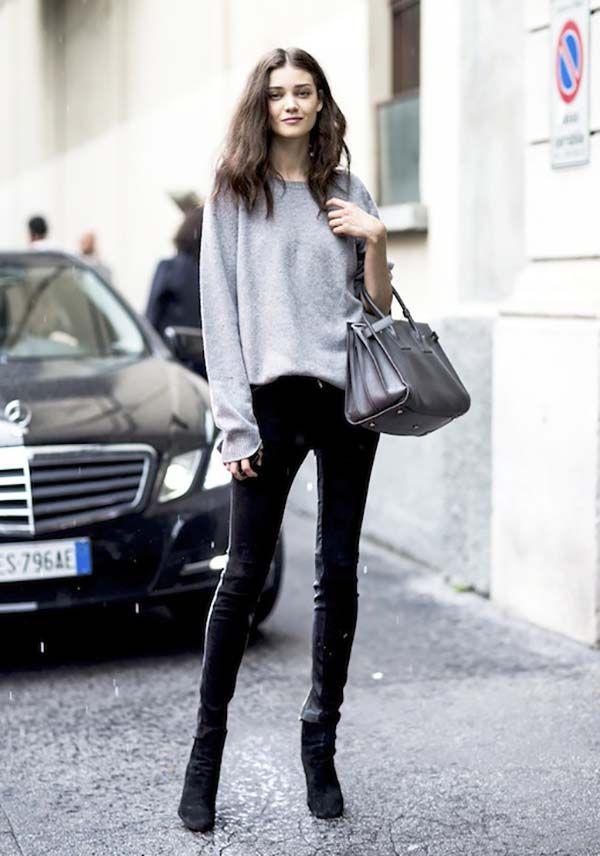 Como se vestir como uma modelo fora das passarelas