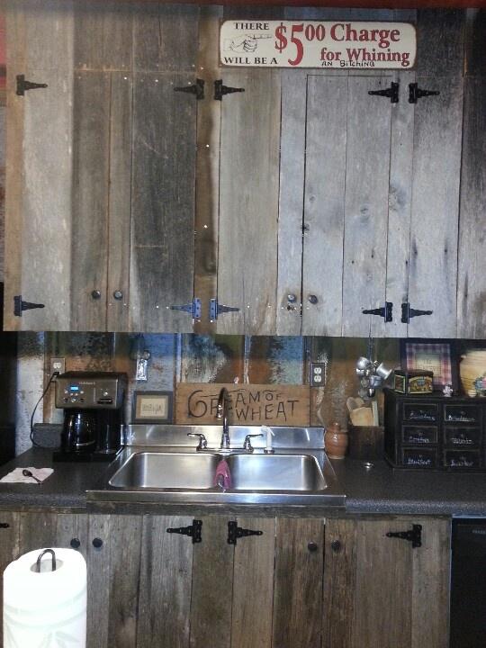 barn wood cabinets barn