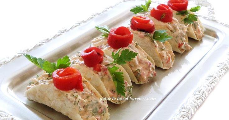 salata tarifimiz gün sofraları için davet sofraları için tavsiyemdir.çok lezzetli oluyor...sunumda porsiyonluk olduğu için servisi kol...