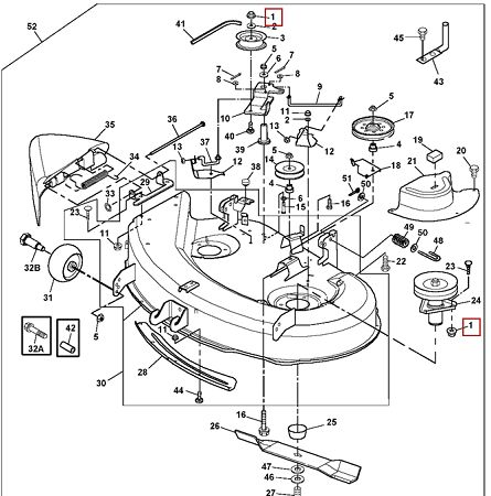 John Deere Mower Decks on wiring diagram john deere l110