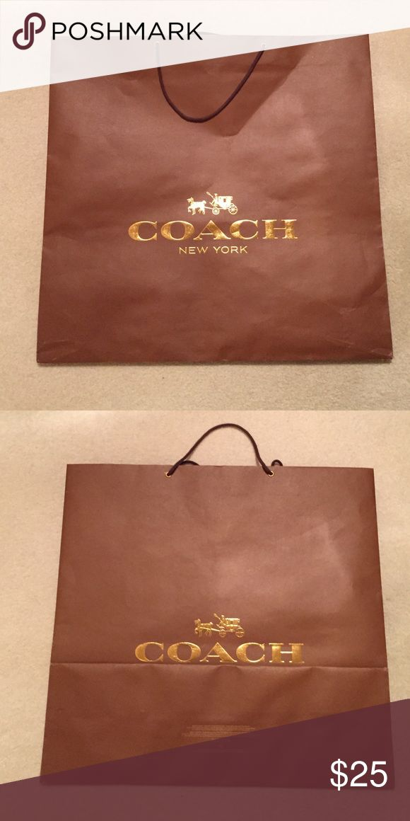 XL Coach Shopping Bag . Coach Bags