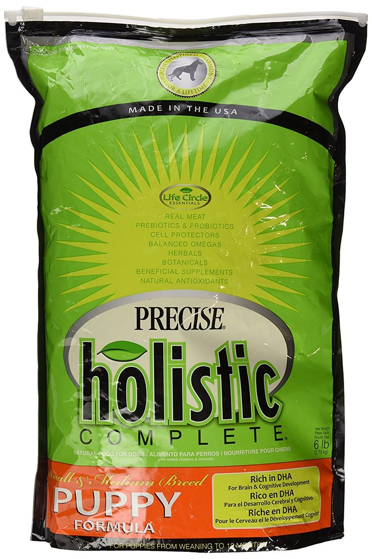 Precise Holistic Complete Puppy Small/Medium Breed Pet Food, 6 lb >> Hurry! Check out this great product : Dog Food
