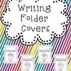 These covers are perfect to put on your students' Writing Folders. Simply print, let students choose a cover, glue on to their folder and allow the...