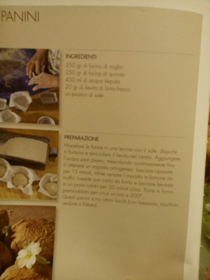 Panini quinoa e miglio
