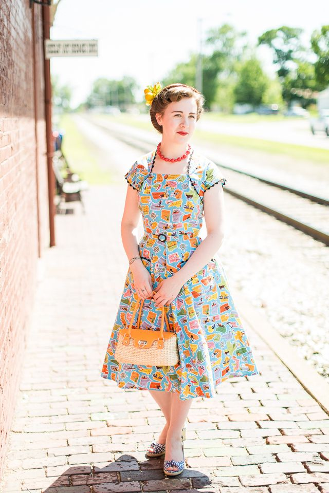 Mode de Lis: · Just My Kind of Patriotic Dress ·