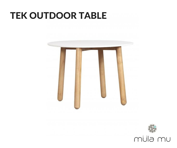 The classic Scandinavian coffee table that is made to withstand rain and sun. http://www.mulamu.com/product/tek-outdoor-table-test/