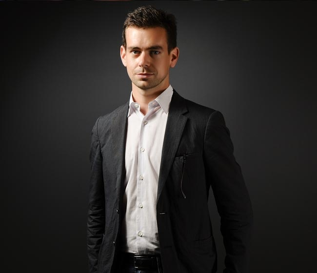 Jack Dorsey- Creator or Twitter and Founder and CEO of Square