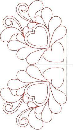 Free Continuous Machine Quilting Designs | Original Embroidery Machine Quilting Designs