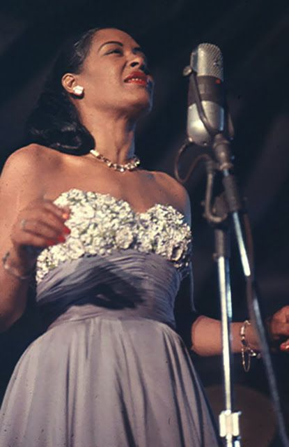 American singer and icon, Billie Holiday, would have been 100 years old today!