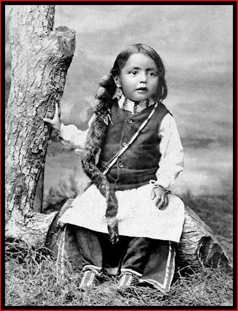 A young Cheyenne boy, 1895                                                                                                                                                                                 More