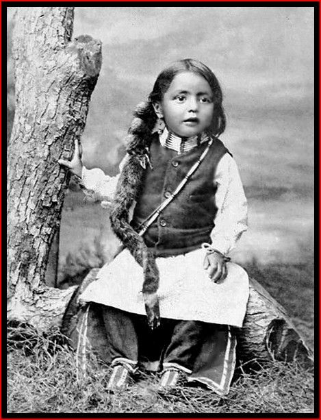 A young Cheyenne boy, 1895