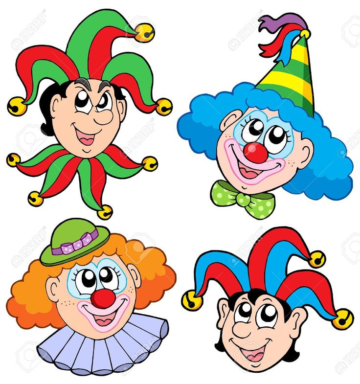 Image from http://previews.123rf.com/images/clairev/clairev0812/clairev081200115/4064044-Clowns-head-collection-2-vector-illustration--Stock-Vector-clown-cartoon-carnival.jpg.