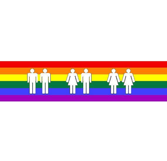 Free Gay Pride Bumper Stickers 5
