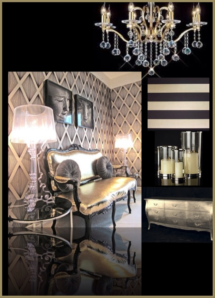 100 Best Black And Gold Decor Images On Pinterest | Home, Architecture And  Mirrors