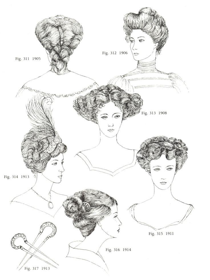 Frisuren dieser Periode wurden durch weiche Fülle charakterisiert. Um modisch zu sein, war eine Masse des dicken welligen Haars notwendig. Diejenigen, die von Natur nicht genug ausgestattet waren, ...