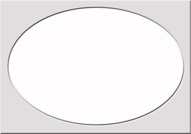 Cómo dibujar una forma de óvalo perfecta | Estilos de ...