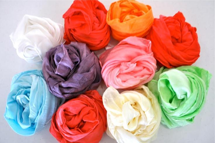 DIY Play silks