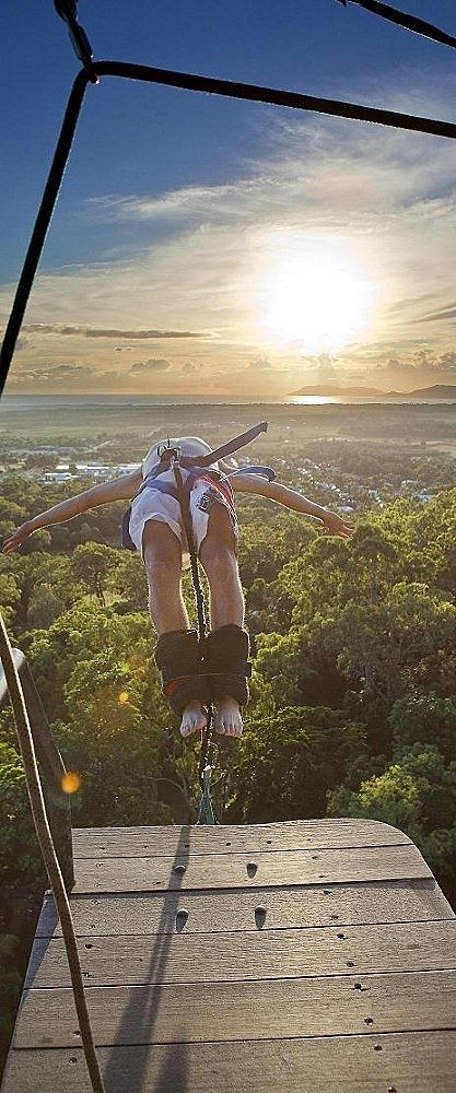 Bungee jumping in Australia... would love to do this! I would do this anywhere, but would love to do it in Australia!