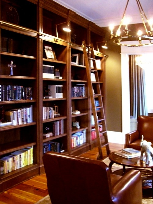 Another thing Iu0027ve always dreamed of having- floor to ceiling bookshelves  with a