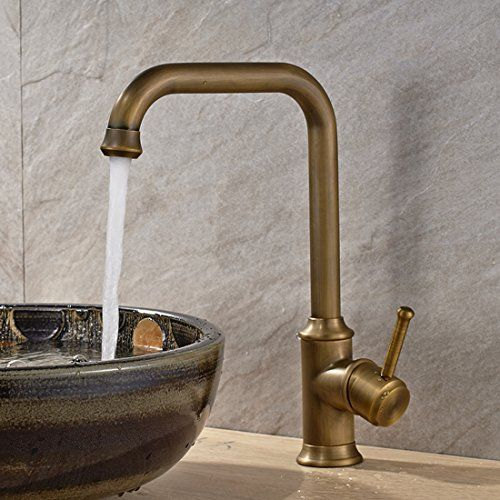 by decor single faucets brass faucet bathroom in sink antique com handle fixtures centerset