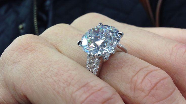 10 Carat Engagement Rings