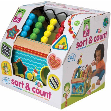 ALEX Toys ALEX Jr. Sort and Count Baby Wooden Developmental Toy - Walmart.com