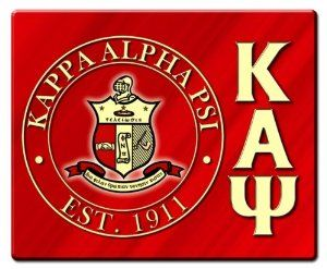 Kappa Alpha Psi Hard Mousepads