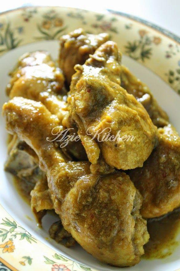 Azie Kitchen: Ayam Ungkep Asli