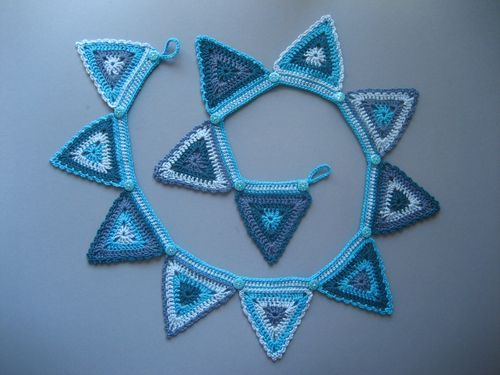 Crochet bunting from Attic 24
