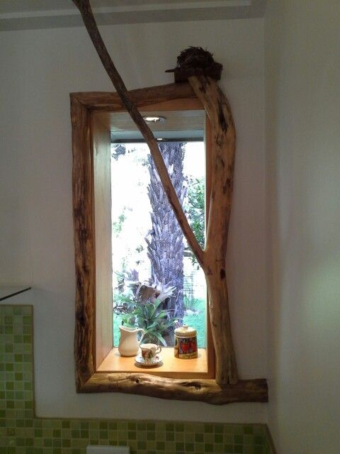 Window frames made from ti trees