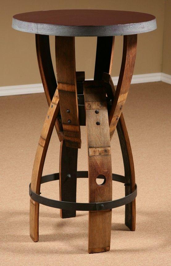 wine barrel stave furniture wine barrel bar stool stave bar stool table swivel bar stool end table bar height table bistro table barrel head clock arched table top wine cellar furniture