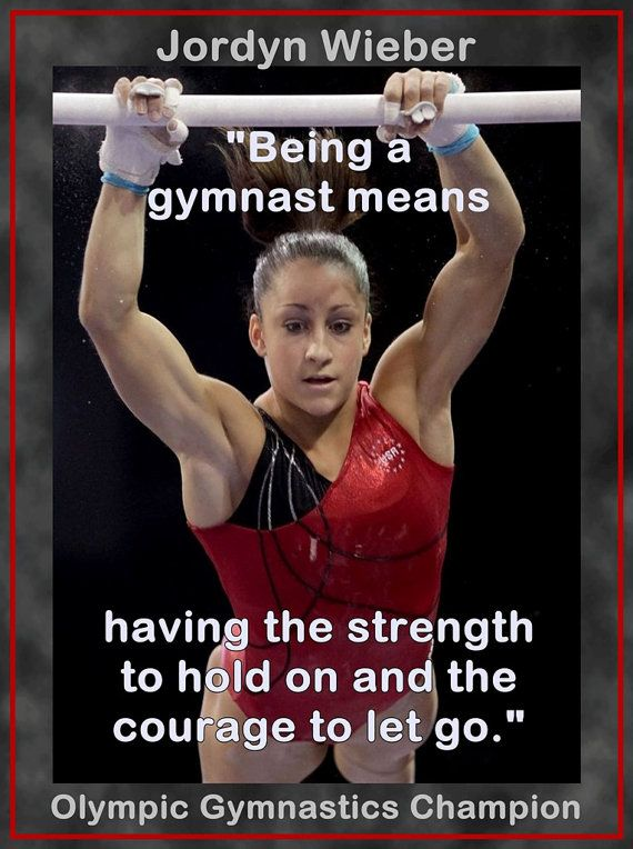 Gymnastics Poster Jordyn Wieber Olympic by ArleyArtEmporium, $15.99