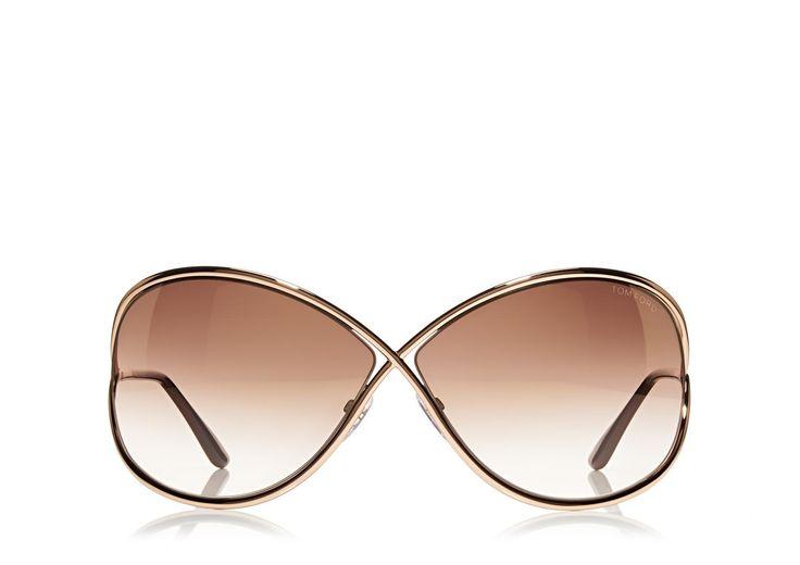 Miranda Oversized Soft Square Sunglasses | Shop Tom Ford Online Store