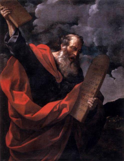 Ο Μωυσής με τις δέκα εντολές - 1624