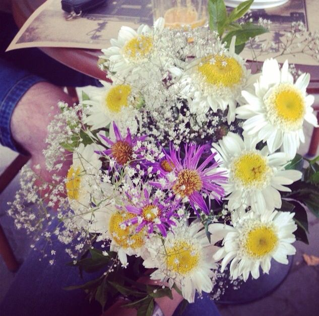Special flowers from a special mansimple