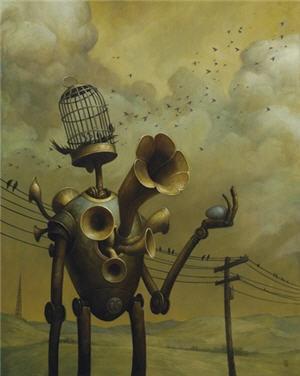 Pop Surrealism Art | Get Out Tonight: Kick-Ass Pop Surrealism at Roq La Rue: Seattlest