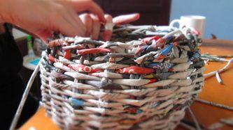 Talleres de tejido en papel - Yavallá