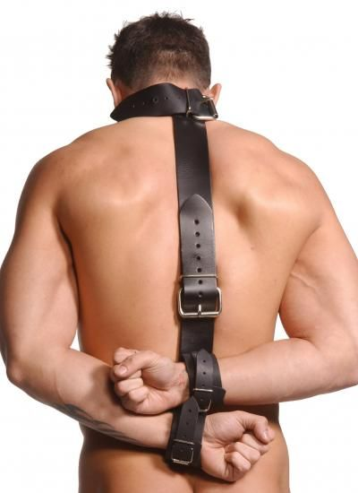 Fur bondage collars