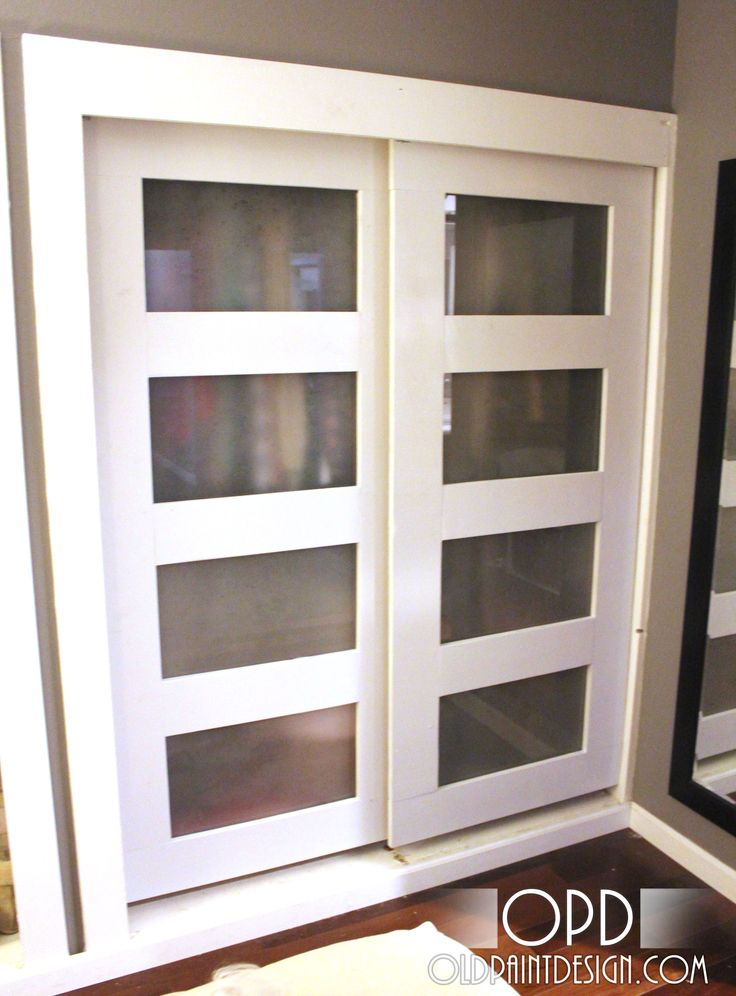 25 best ideas about closet door redo on pinterest for Sliding pantry doors