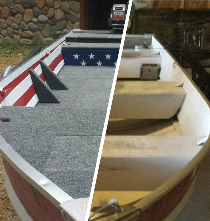 Picture of Aluminum Boat Fishing Conversation and Restoration