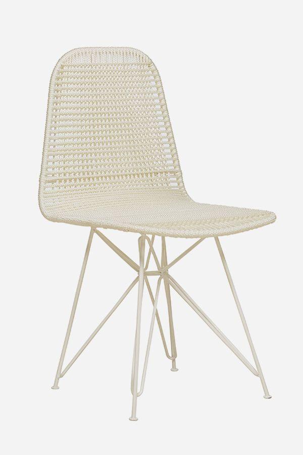 Zephyr Chair, White