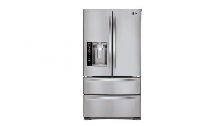 LG 610L 4 Door French Door Refrigerator with Slim Indoor Ice & Water Dispenser