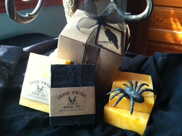 Irish Twins Soap Co.  - Halloween Gift Pack, $12.50 (http://www.irishtwinssoaps.com/halloween-gift-pack/)