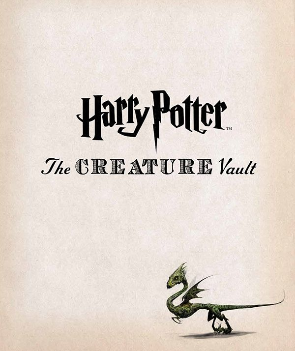 Art direction, design, and layout of a 208 page book about the creatures and plants of the Harry Potter films.