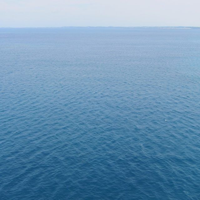 伊良部大橋から見る青い海