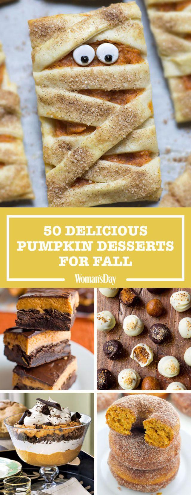 50 Palate-Pleasing Pumpkin Desserts for Fall - WomansDay.com