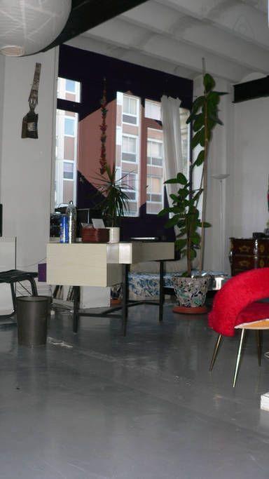 En juin 2013, j'ai vécu quelques jours dans cet appartement d'Eve, à Paris et j'ai adoré...