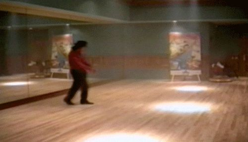 Michael Jackson's neverending moonwalk. | 31 GIFs So Perfectly Looped That It's Physically Gratifying